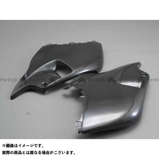 A-TECH 隼 ハヤブサ カウル・エアロ ハーフサイドカウルセット 左右セット 材質:FRP/白 エーテック