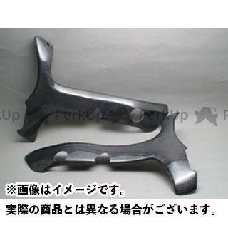 A-TECH 隼 ハヤブサ マフラーカバー・ヒートガード フレームヒートガード 材質:ドライカーボン エーテック