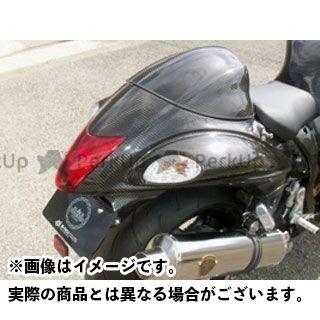A-TECH 隼 ハヤブサ カウル・エアロ ストリート用シートカウル FRP/白 エーテック
