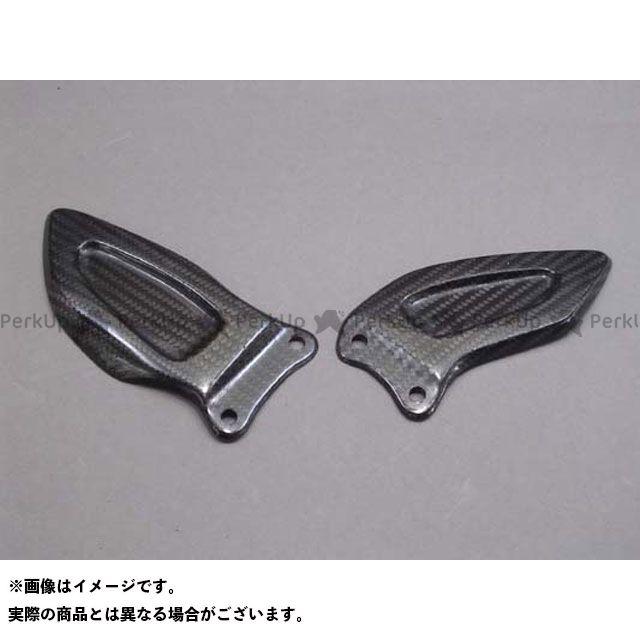 A-TECH GSX-R600 GSX-R750 その他外装関連パーツ ヒールガード 左右セット 綾織カーボン エーテック