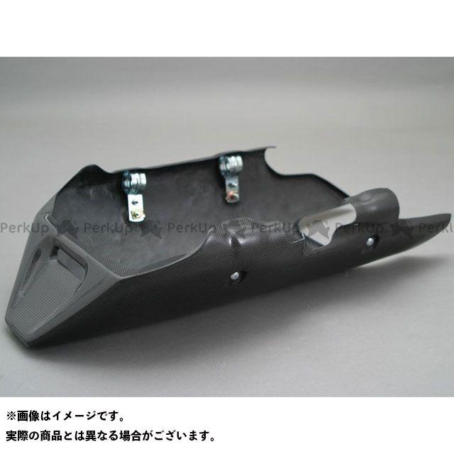 A-TECH XJR1200 カウル・エアロ アンダーカウル 材質:FRP/黒 エーテック
