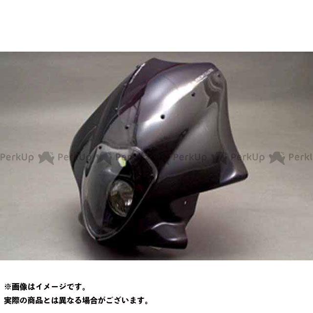A-TECH XJR1200 カウル・エアロ ビキニカウル ルナソーレ スクリーン付き(FRP/白) エーテック