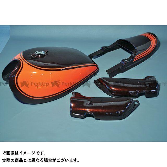 M-TEC中京 MRS Z1・900スーパー4 Z2・750ロードスター タンク関連パーツ 火の玉外装セット ショートピッチ
