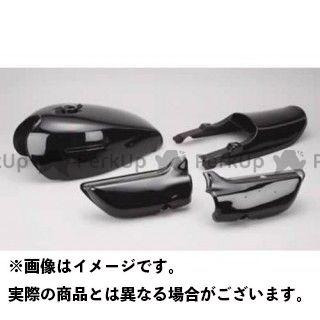 【無料雑誌付き】MRS Z1・900スーパー4 Z2・750ロードスター タンク関連パーツ ソリッドブラック タンクセット M-TEC中京