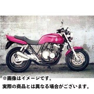 【エントリーで最大P23倍】M-TEC中京 MRS CB400スーパーフォア(CB400SF) マフラー本体 CB400SF STD モナカ フルEX BK(V-TEC不可) M-TEC中京