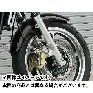 【無料雑誌付き】OVER RACING ゼファー1100 キャリパー フロントキャリパーサポート ブレンボ4P/40mm用 オーバーレーシング