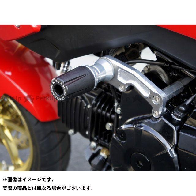 送料無料 OVER RACING グロム スライダー類 エンジンスライダー シルバー