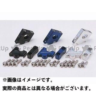 POSH Faith ZRX400 ZRX400- ハンドル周辺パーツ スーパーバイクポジションブラケット カラー:ブルー ポッシュフェイス