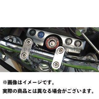 POSH Faith ZRX1200R ZRX1200S トップブリッジ関連パーツ マシンドトップブリッジ 単体 シルバー ポッシュフェイス
