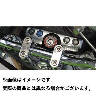 POSH Faith ZRX1200R ZRX1200S トップブリッジ関連パーツ マシンドトップブリッジ 単体 ブラック ポッシュフェイス