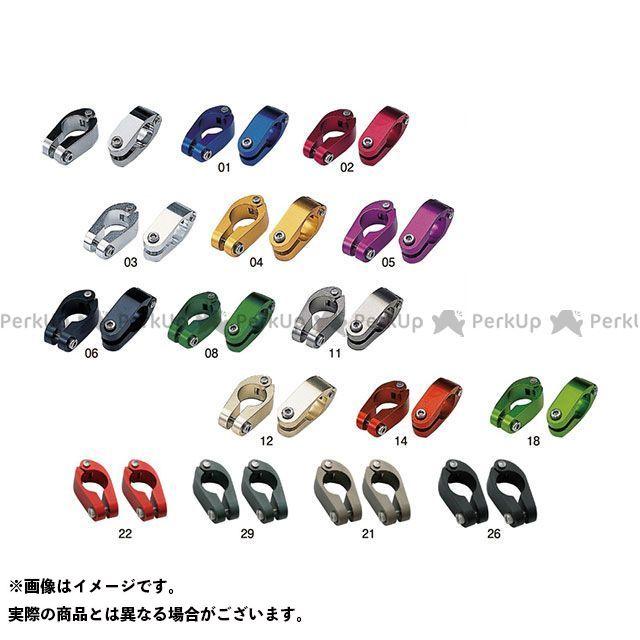 ポッシュフェイス POSH Faith ハンドル関連パーツ ハンドル クイックリリースブレースクランプ 買収 2個セット 安値 カラー:チタン 22.4mmサイズ