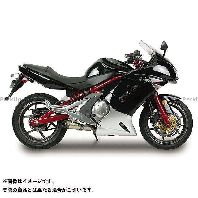 Two Brothers Racing ニンジャ650R ヴェルシス650 マフラー本体 Ninja650R/N(-11) スリップオン/M2 サイレンサー:チタン シリーズ:ブラック ツーブラザーズレーシング