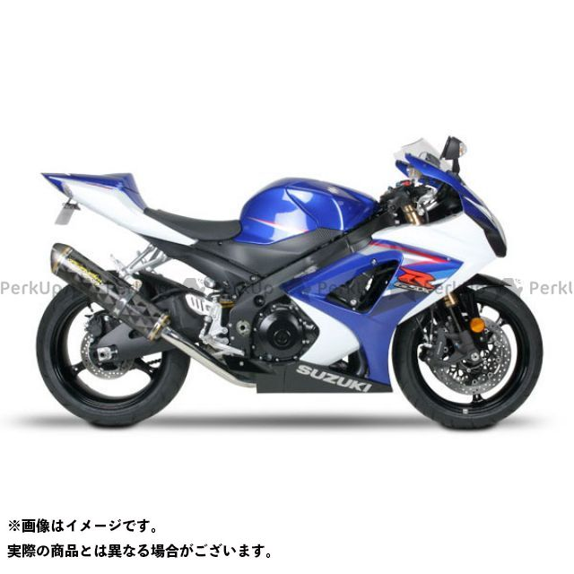 Two Brothers Racing GSX-R1000 マフラー本体 GSX-R1000(07-08) スリップオン/M2 サイレンサー:カーボンファイバー シリーズ:ブラック ツーブラザーズレーシング