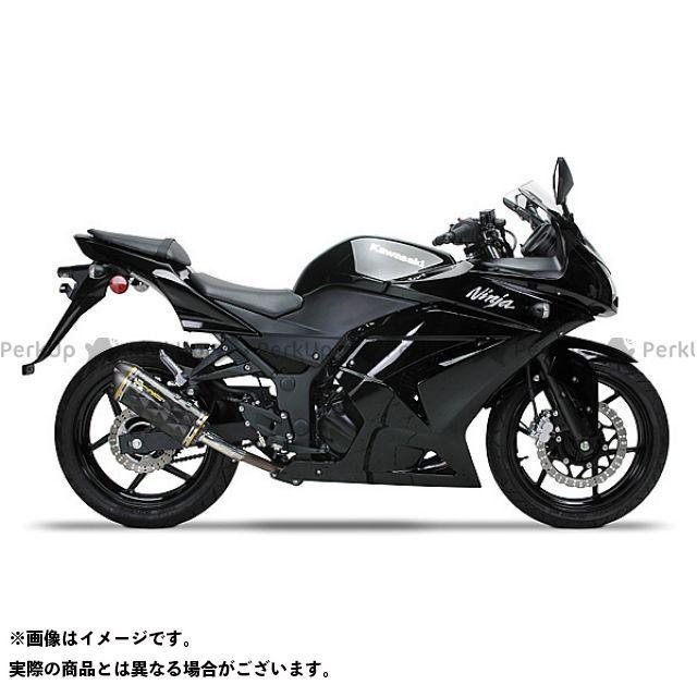 Two Brothers Racing ニンジャ250R マフラー本体 Ninja250R(08-13) フルエキ/M2 サイレンサー:チタン シリーズ:ブラック ツーブラザーズレーシング