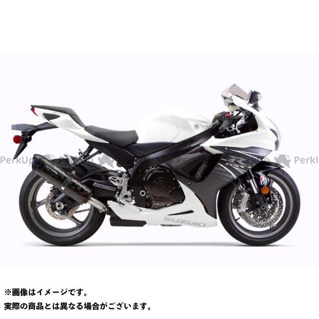 Two Brothers Racing GSX-R600 GSX-R750 マフラー本体 GSX-R600/750(11-16) スリップオン/M2 サイレンサー:チタン シリーズ:ブラック ツーブラザーズレーシング