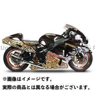 送料無料 Two Brothers Racing 隼 ハヤブサ マフラー本体 GSX1300Rハヤブサ(02-07) デュアルスリップオン/M2 チタン スタンダード