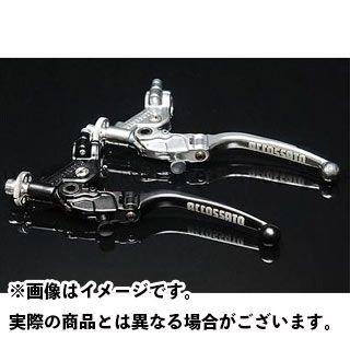 アコサット ACCOSSATO 高価値 レバー お中元 ハンドル ワイヤークラッチ 汎用 ブラック 24mm