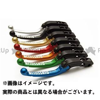 ACCOSSATO 汎用 レバー ラジアルブレーキレバーLV005 20mm タイプ:ショート カラー:グリーン アコサット