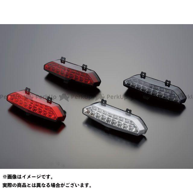送料無料 POSH Faith ZRX1200ダエグ テール関連パーツ LEDテールランプユニット レッド