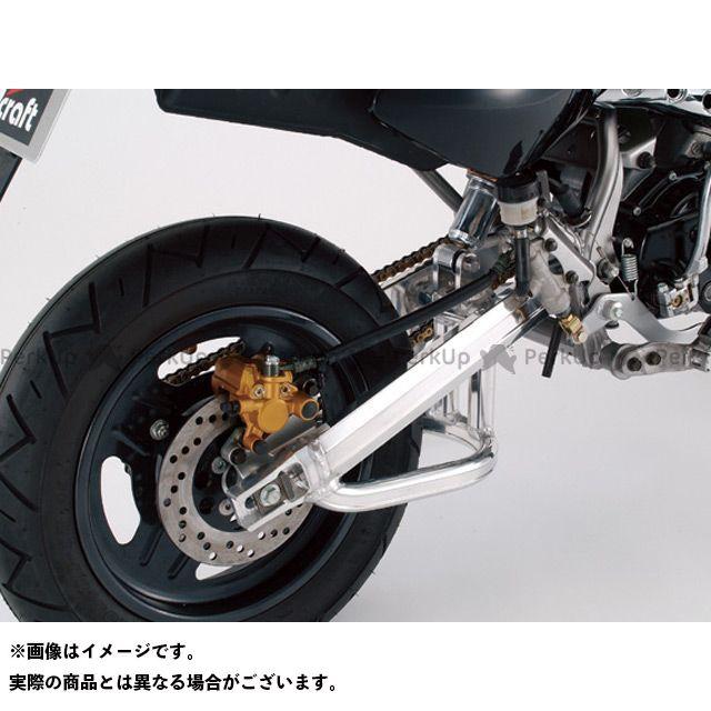 ジークラフト KSR110 スイングアーム KSR110用S/A T/Sスタビ付 NSRホイール用 仕様:4cmロング Gクラフト
