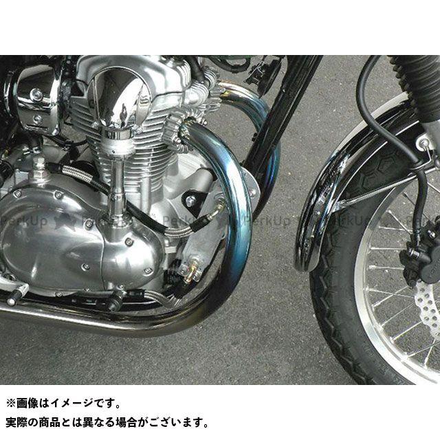 ビートジャパン W800 マフラー本体 NASSERT TRAD-V ヒートガードボス付き仕様 タイプ:チタン/ステンレス BEET