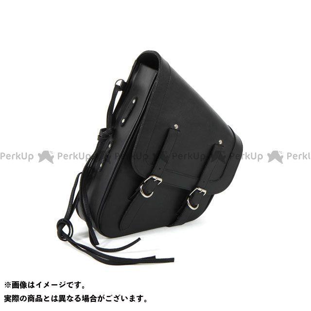 送料無料 イージーライダース EASYRIDERS ツーリング用バッグ リジッドサドルバッグ プレーン(シングル/PVC製/ブラック)