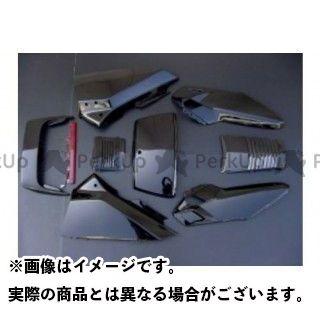 RISE CORPORATION カウル・エアロ フュージョン用(MF02) 外装 アッパーカウルSE仕様 カラー:ブラック ライズコーポレーション