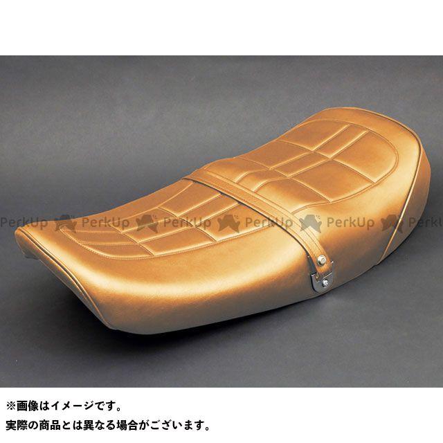 ピーエムシー Z2・750ロードスター シート関連パーツ Z2タイプ あんこ抜きシートコンプリート カラー:ブラウン PMC