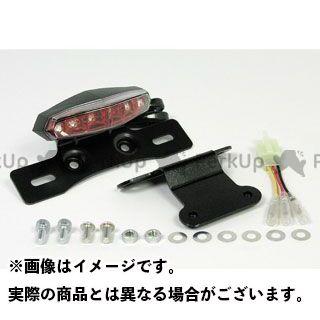 TAKEGAWA Dトラッカー125 KLX125 テール関連パーツ フェンダーレスLEDミニテールランプキット カラー:レッド SP武川