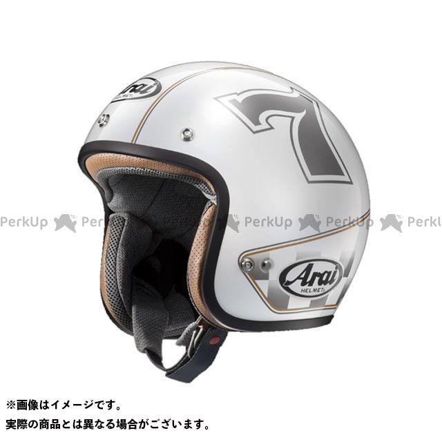 送料無料 アライ ヘルメット Arai ジェットヘルメット CLASSIC MOD(クラシック・モッド) CAFE RACER ホワイト 59-60cm