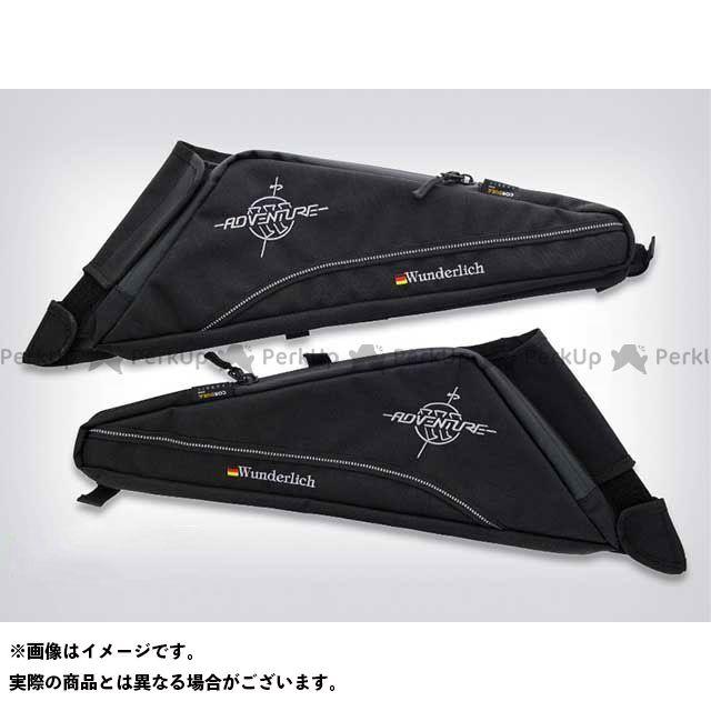 Wunderlich ツーリング用バッグ サイドフレームバック R1200GS/R1200GS Adv./R1200R/R1200RS カラー:ブラック ワンダーリッヒ