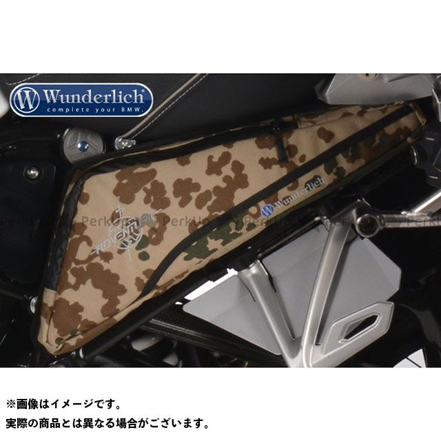 Wunderlich ツーリング用バッグ サイドフレームバック R1200GS/R1200GS Adv./R1200R/R1200RS カラー:デザートパターン ワンダーリッヒ