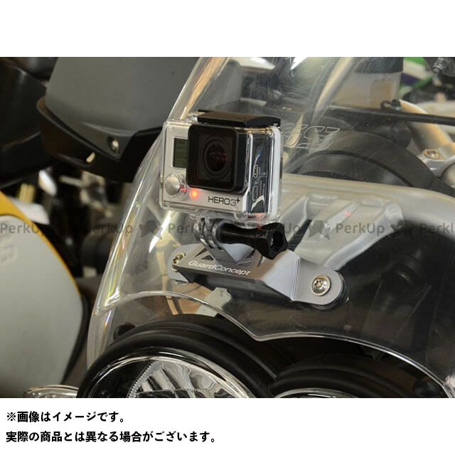 Wunderlich R1200GS R1200GSアドベンチャー 電子機器類 アクションカメラホルダー(シルバー) ワンダーリッヒ