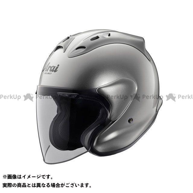 送料無料 アライ ヘルメット Arai ジェットヘルメット MZ アルミナシルバー 54cm