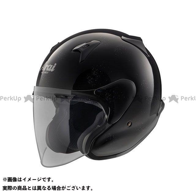 送料無料 アライ ヘルメット Arai ジェットヘルメット MZ-F グラスブラック 57-58cm