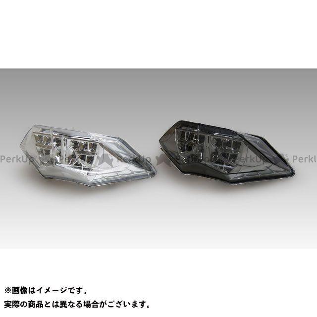 【無料雑誌付き】KIJIMA ニンジャ250 Z250 テール関連パーツ テールユニット LED カラー:クリア キジマ