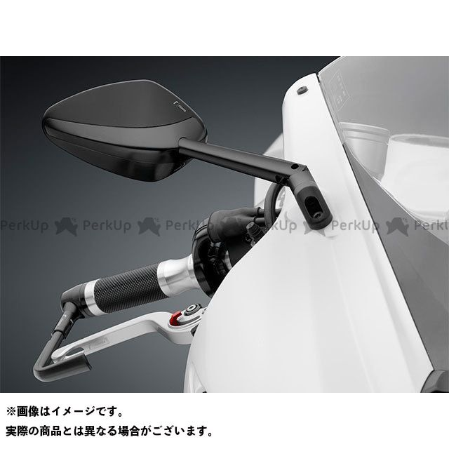 【エントリーで最大P21倍】RIZOMA 汎用 ミラー関連パーツ ミラー「Veloce」 カラー:ブラック リゾマ