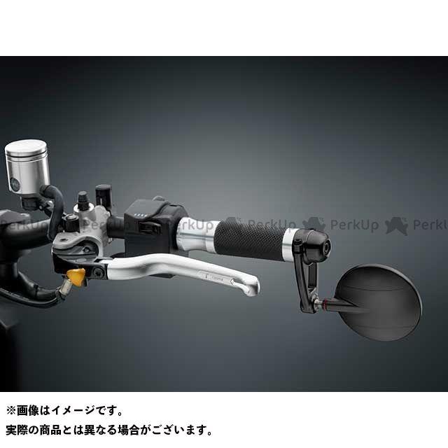 【エントリーで最大P21倍】RIZOMA 汎用 ミラー関連パーツ Mirror「SPY-ARM」φ80 カラー:ブラック リゾマ