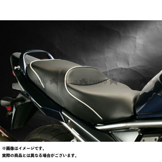 Sargent バンディット1250F バンディット1250S GSX650F シート関連パーツ ローシート カラー:パイピング:シルバー サージェント