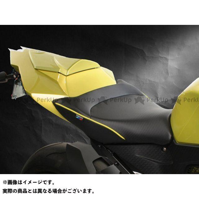 Sargent S1000RR シート関連パーツ フロントレギュラーシート カラー:パイピング:アシッドグリーン サージェント