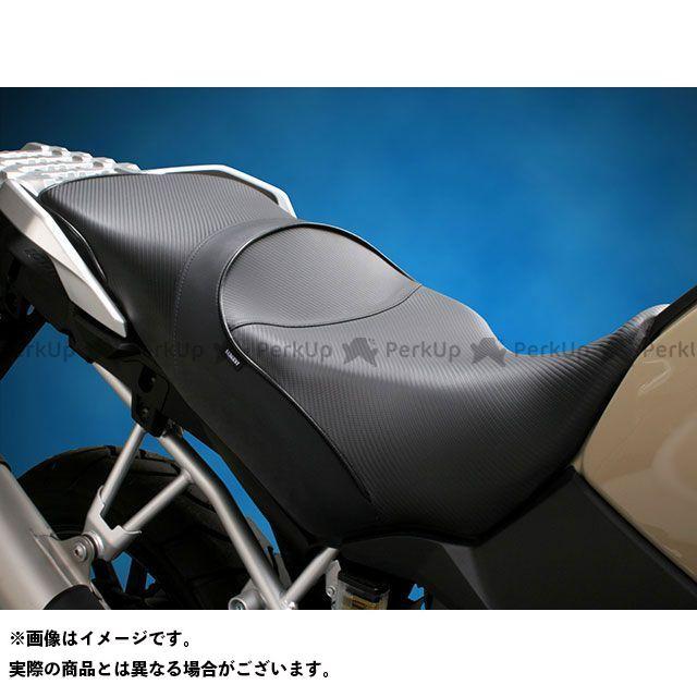 Sargent Vストローム1000 シート関連パーツ ワールドスポーツ パフォーマンスシート(レギュラーシート/カーボンFX) パイピング:G-100 Metallic Graphite Blue サージェント