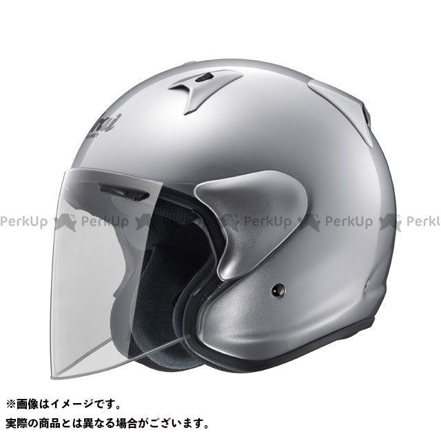 送料無料 アライ ヘルメット Arai ジェットヘルメット SZ-G アルミナシルバー 61-62cm
