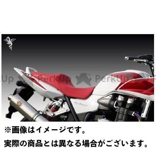 【無料雑誌付き】R's GEAR CB1300スーパーボルドール CB1300スーパーフォア(CB1300SF) シート関連パーツ ワイバンコンフォートシート レッドレザー(表皮:赤/ステッチ:赤) アールズギア