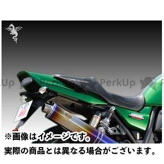 【エントリーで更にP5倍】R's GEAR ZRX1100 ZRX1200ダエグ ZRX1200R シート関連パーツ ワイバンコンフォートシート ディンプルタイプ(表皮:黒/ステッチ:緑) アールズギア