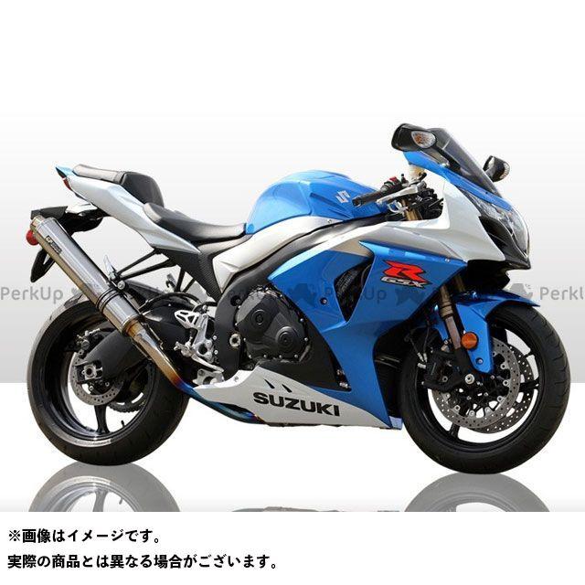 【無料雑誌付き】R's GEAR GSX-R1000 マフラー本体 GPスペック スリップオン サイレンサー:チタンオーバル アールズギア