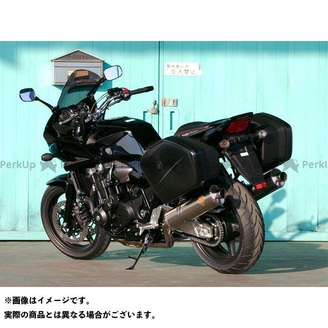 R's GEAR CB1300スーパーツーリング マフラー本体 ツイン ワイバン サイレンサー:チタンオーバル アールズギア