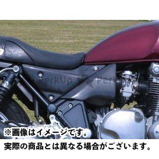 COERCE ゼファー1100 カウル・エアロ RSサイドカバー 素材:FRP白ゲル コワース