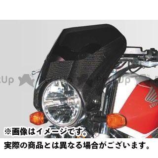 【特価品】COERCE 汎用 カウル・エアロ RSビキニカウル M02 素材:FRP白ゲル スクリーン:チタン コワース