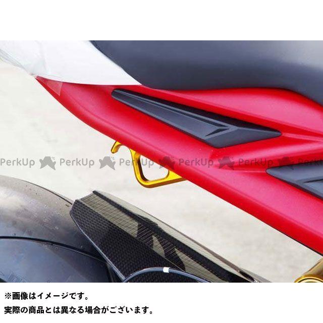 BABYFACE デイトナ675 ストリートトリプル その他外装関連パーツ レーシングフック カラー:ブラック ベビーフェイス