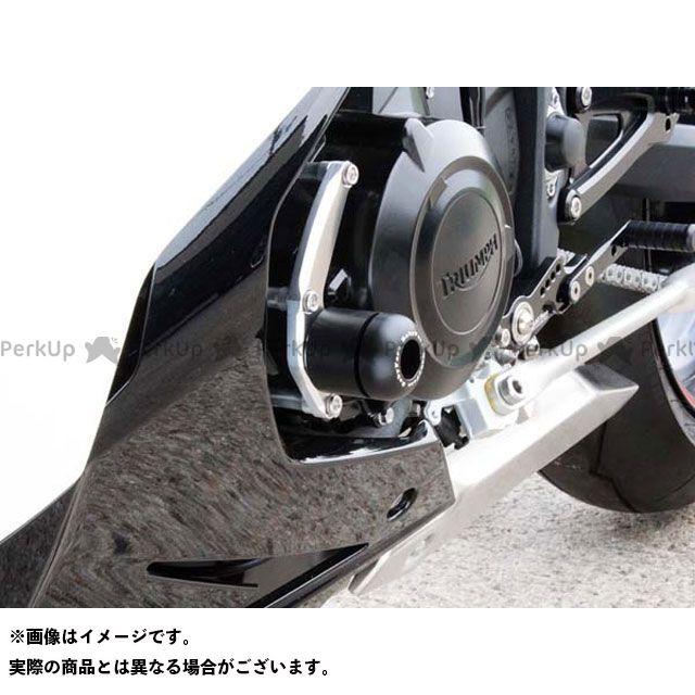 【エントリーで更にP5倍】BABYFACE デイトナ675 ストリートトリプル スライダー類 エンジンスライダー 取り付けサイド:左サイド ベビーフェイス